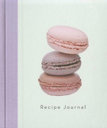 9781742683454: Three Macaroons- Large Recipe Journal