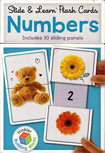 9781742819785: Building Blocks Slide & Learn Flashcards Numbers (UK Eng)
