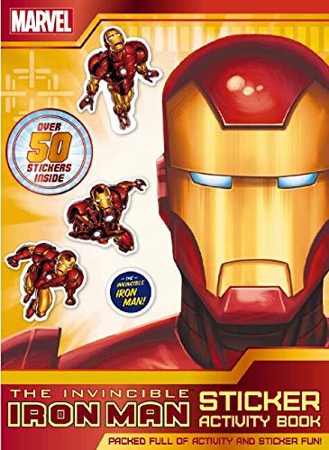 The Invincible Iron Man Sticker Activity Book (Paperback)