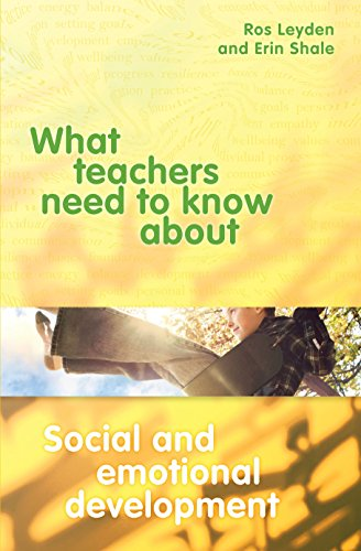 9781742860336: What Teachers Need to Know About Social and Emotional Development