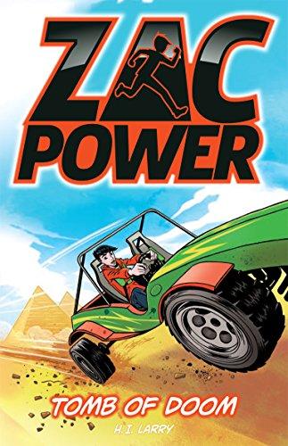 Tomb of Doom (Zac Power): Larry, H. I.