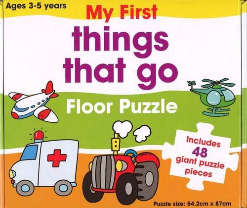 9781743001813: Things That Go Floor Puzzle