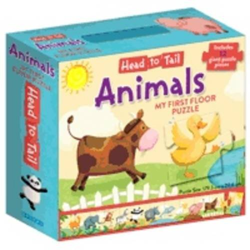 9781743003374: Head ToTail My First Floor Puzzle - Animals