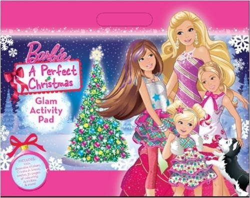 9781743009284: Barbie a Perfect Christmas: Holiday Activity Pad