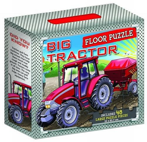 9781743009666: Big Tractors Floor Puzzle (Jigsaw Puzzle)