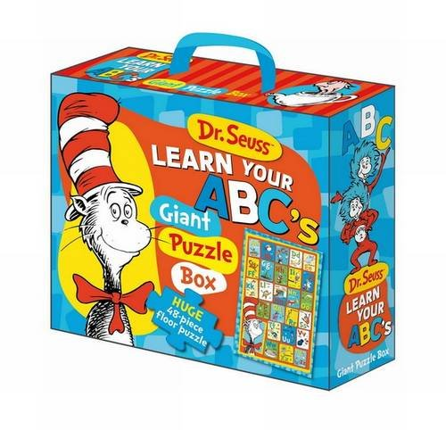 9781743009727: Dr Seuss Cat in Hat Learn Your ABC's Floor Puzzle