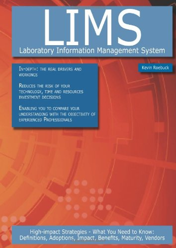 Lims - Laboratory Information Management System: High-Impact: Roebuck, Kevin