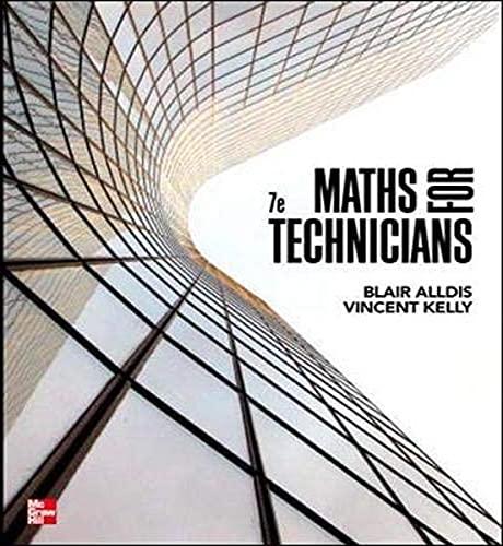Mathematics for Technicians (Paperback): Blair K. Alldis