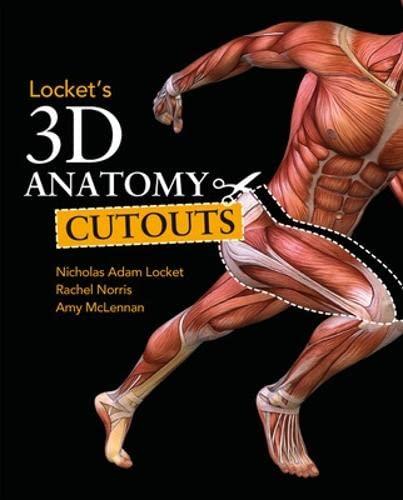 Locket's 3D Anatomy Cutouts (Paperback): Adam Locket