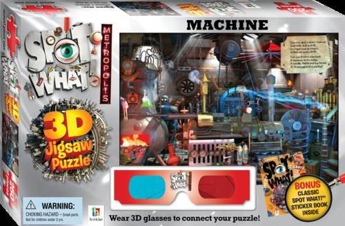 9781743083031: Spot What! Metropolis 3D Jigsaw Machine (Spot What! 3D Jigsaws)