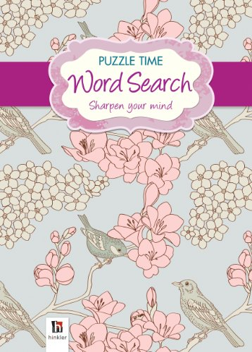 9781743083222: Puzzle Time Word Search (Purple)