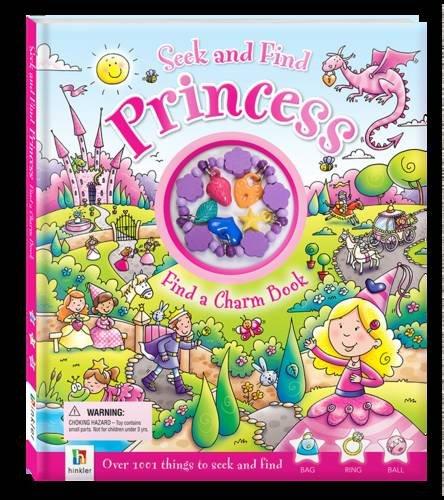9781743084960: Seek and Find Princess Find a Charm Book