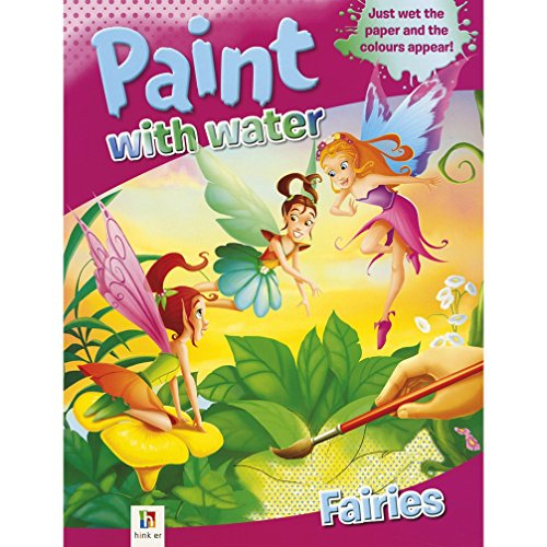9781743085295: Fairies Paint with Water (Paint with Water Series 2)