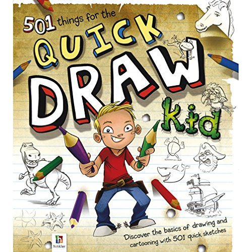 9781743085332: 501 Things for the Quick Draw Kid (Binder)
