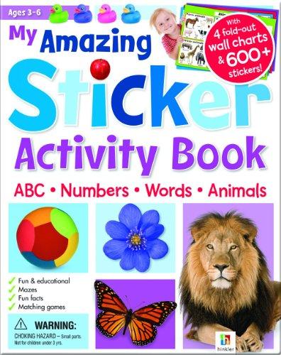9781743086339: My Amazing Sticker Activity Book