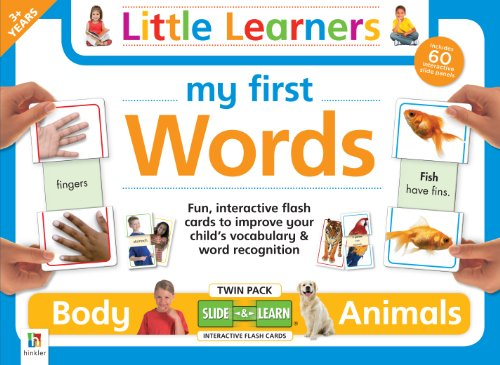 9781743086773: My First Words: Body & Animal Flashcards Twin pack (Little Learners)