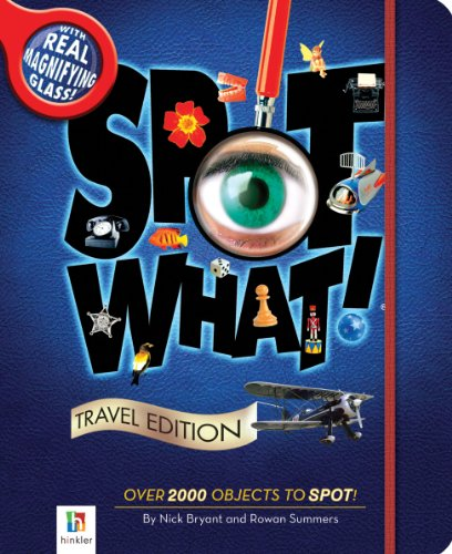 Spot What! Travel Edition (9781743087336) by Hinkler Books