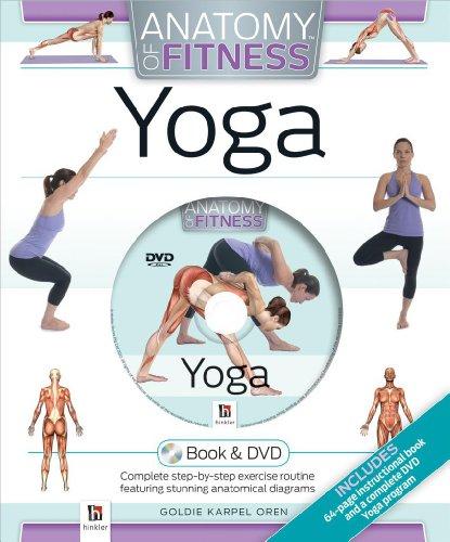 Cased Gift Box DVD Anatomy of Fitness Yoga: Goldie Karpen Oren