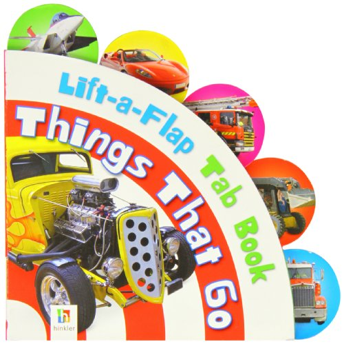 9781743088814: Lift-a-flap Tab Book: Things That Go