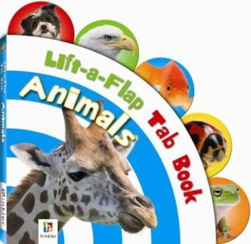 9781743088821: Lift-A-Flap Tab Board Books: Animals