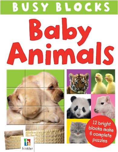 9781743088883: Baby Animals (Busy Blocks)