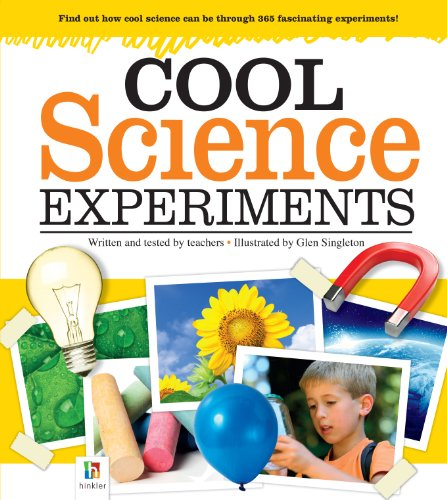 9781743088890: Cool Science Experiments (for kids)-365 Experiments in Astronomy,Biology,Chemistry Geology,Physics,Weather