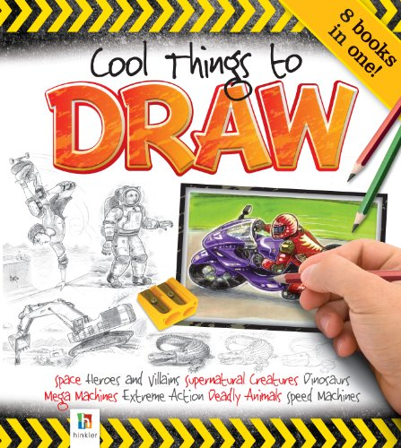 9781743088913: Cool Things To Draw