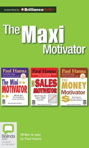 9781743170458: The Maxi Motivator: The Mini Motivator, The Sales Motivator, The Money Motivator