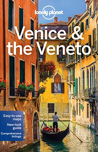 Venice Full Face Black Mirror Mask: Lonely Planet Venice & The Veneto: Pull-Out Maps, Top