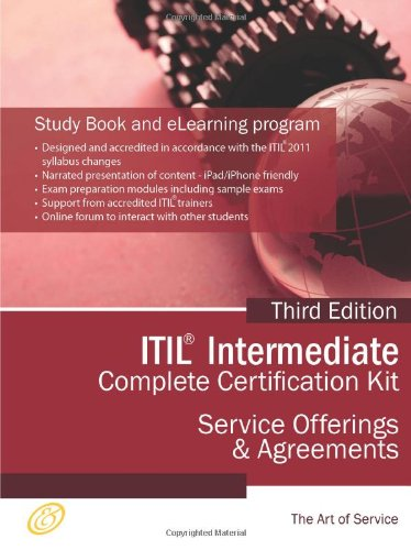 9781743333921: ITIL Service Offerings and Agreements (SOA) Full Certification Online Learning and Study Book Course - The ITIL Intermediate SOA Capability Complete Certification Kit - Third Edition