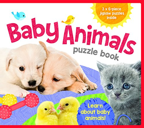 Eva Jigsaw Books Baby Animals: Lake Press