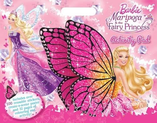 9781743464946: Barbie Mariposa A3 Activity Pad (Barbie Mariposa/Fairy Princess)