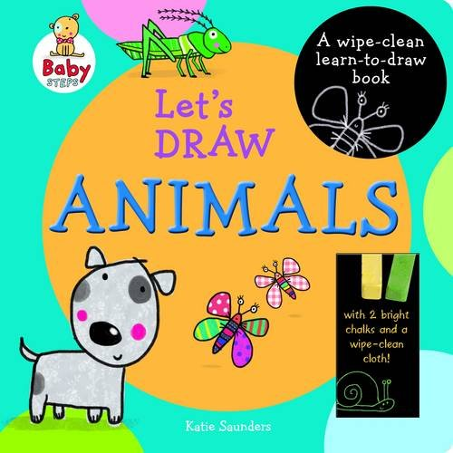 9781743466186: Baby Steps Lets Draw Animals