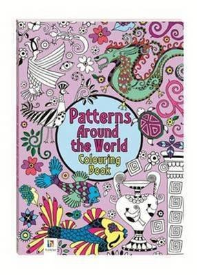 Patterns Around the World Colouring Book (Paperback)