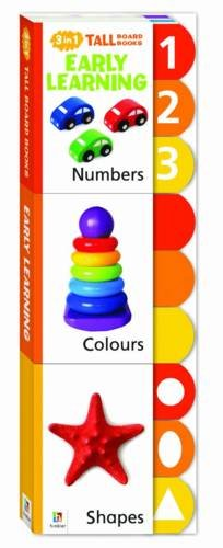 9781743521434: Early Learning 3 in 1 Tall Board Books