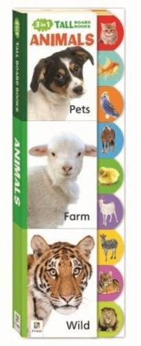 9781743521441: Animals 3 in 1 Tall Board Books