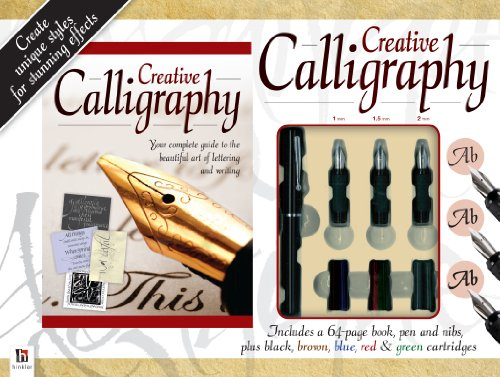 9781743522974: Creative Calligraphy [With 5 Cartridges, Pen, 3 Nibs and Paperback Book]