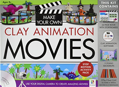 9781743527719: Make Your Own Clay Animation Movies