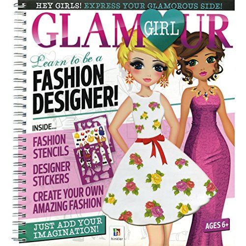 9781743528143 Glamour Girl Portfolio Learn To Be A Fashion Designer Abebooks 1743528140
