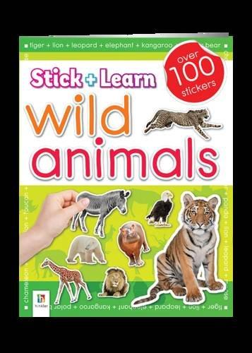 9781743528433: Wild Animals Sticker Book