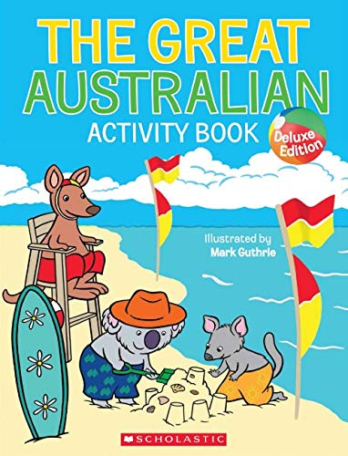 The Great Australian Activity Book (Paperback): Mark Guthrie