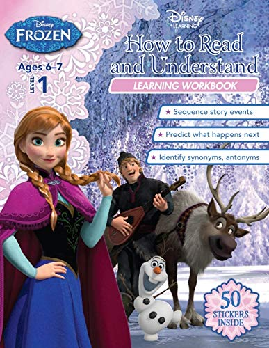 Disney Frozen - How to Read and Understand Learning Workbook (Paperback)