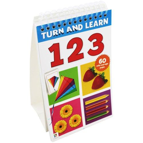 9781743633625: Turn and Learn Flip Pad: Numbers