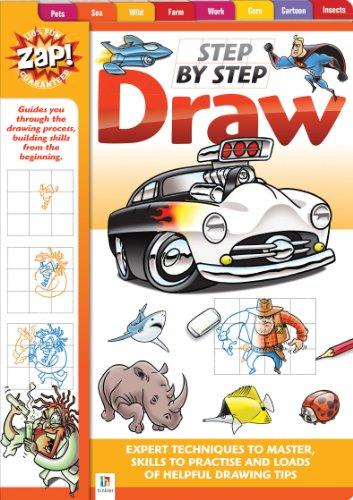9781743633830: Zap! Step by Step Draw