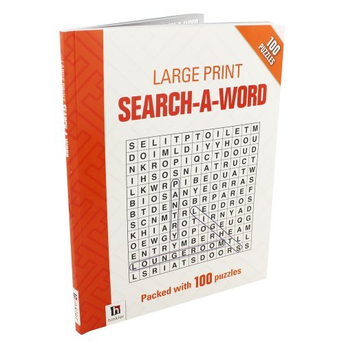 9781743634202: Large Print Search-A-Word