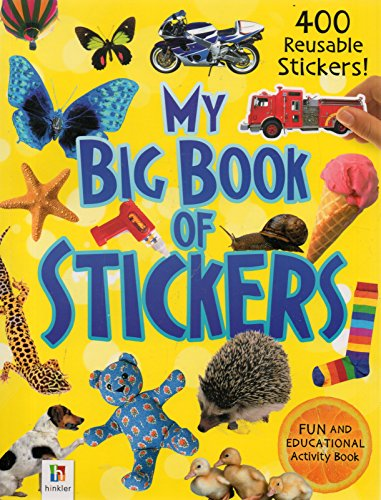 9781743636060: My Big Book of Stickers, Hinkler Fun and Educational Activity Book, 2014