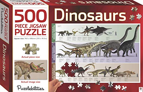 9781743638613: Puzzlebilities Dinosaurs: 500 Piece Jigsaw Puzzle