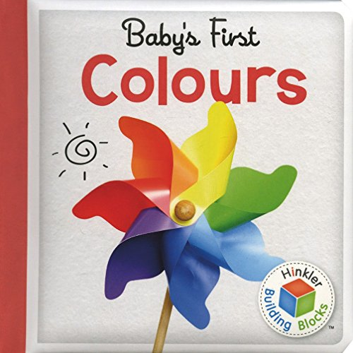 9781743678039: Building Blocks Colours Baby's First Padded Board Book (UK)