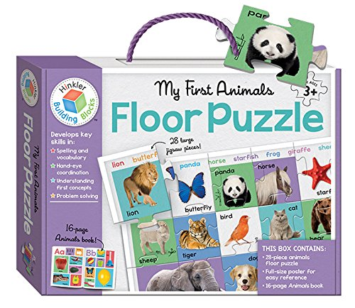 9781743678060: My First Animals: Floor Puzzle