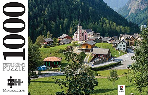 9781743678398: Mindbogglers Town of Trient, Switzerland Puzzle
